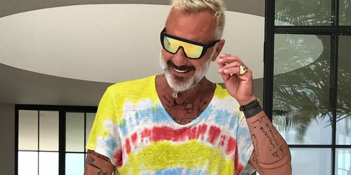 Gianluca Vacchi está en modo Colombia y se puso la'tricolor