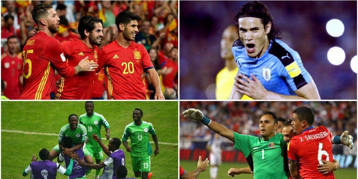 Históricas selecciones que pueden quedar fuera del Mundial