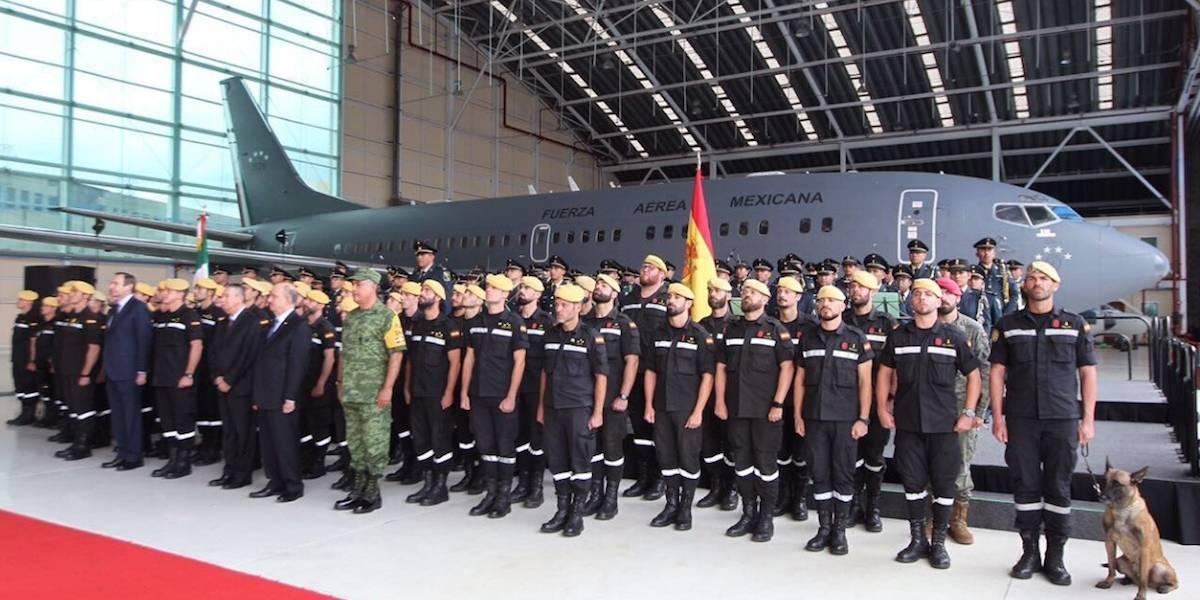 Desea SRE regreso de brigadistas a una España unida y eterna