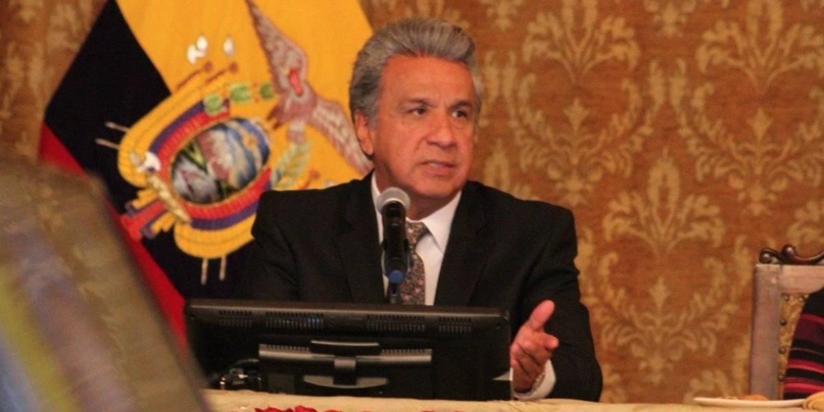 Lenín Moreno pide estudio jurídico para sustituir a Jorge Glas