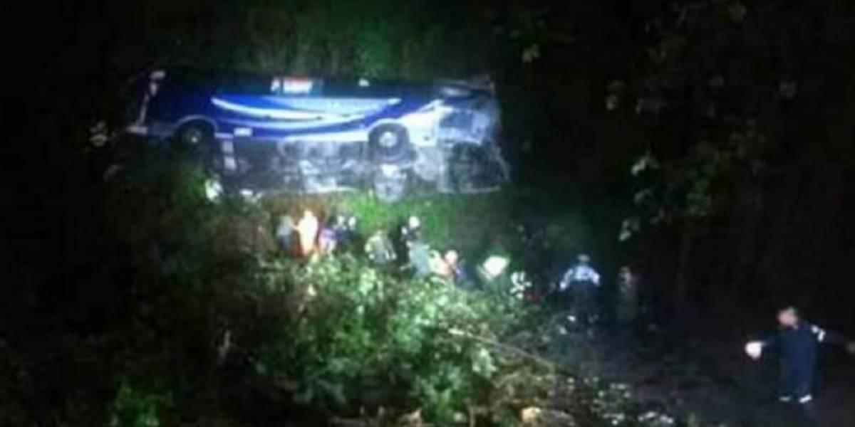 ¡Atención! Grave accidente en la vía Bucaramanga-Bogotá