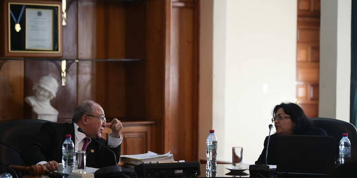 Cuarto fracaso para elegir al sucesor de Nery Medina en la Corte