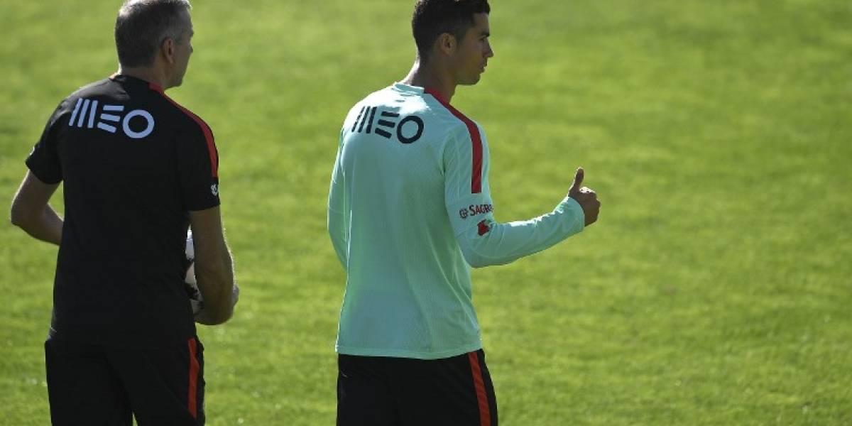 ¿Por qué Cristiano Ronaldo se entrena en solitario con Portugal?