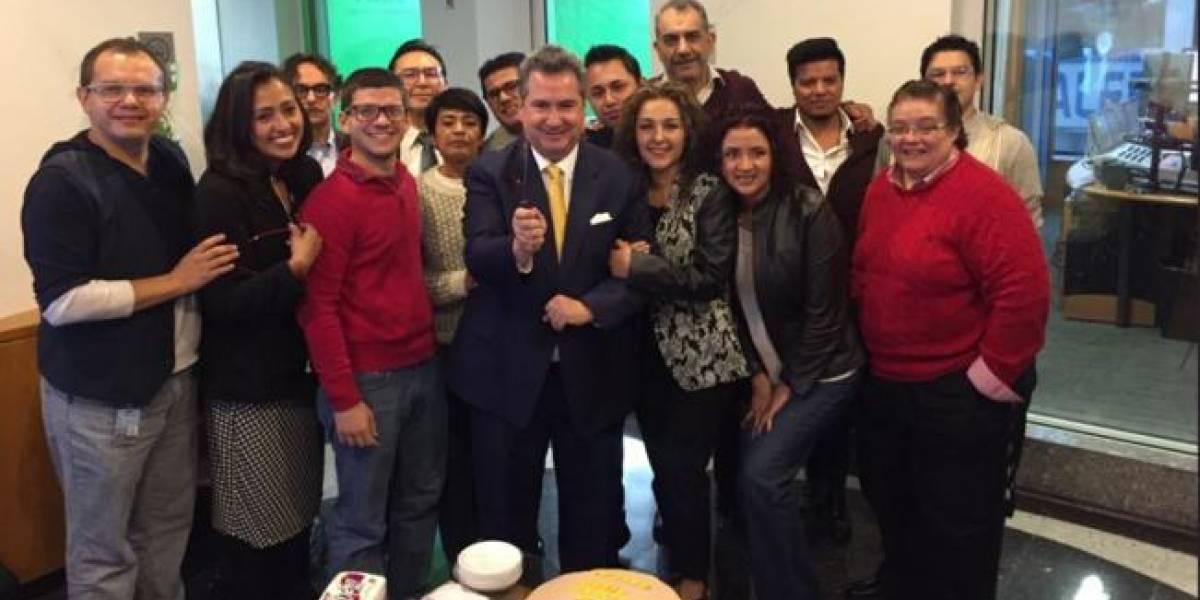 Lamentan salida de Leonardo Curzio de Enfoque Noticias por presiones