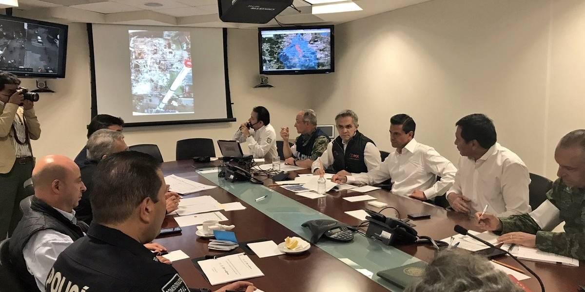 Búsqueda y rescate en CDMX finalizó, sigue reconstrucción: Peña Nieto