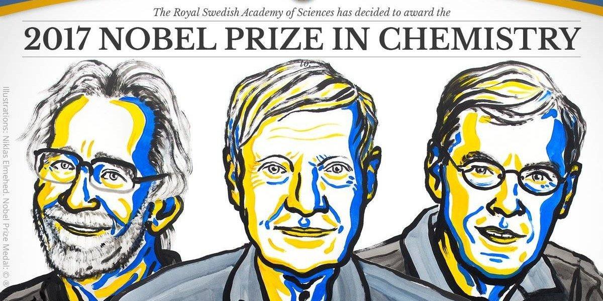 Premio Nobel de Química para 3 investigadores de microscopía biomolecular