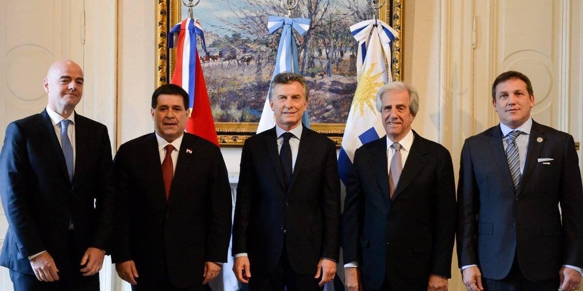 Argentina abrió la ilusión del sueño del Mundial 2030 con Uruguay y Paraguay