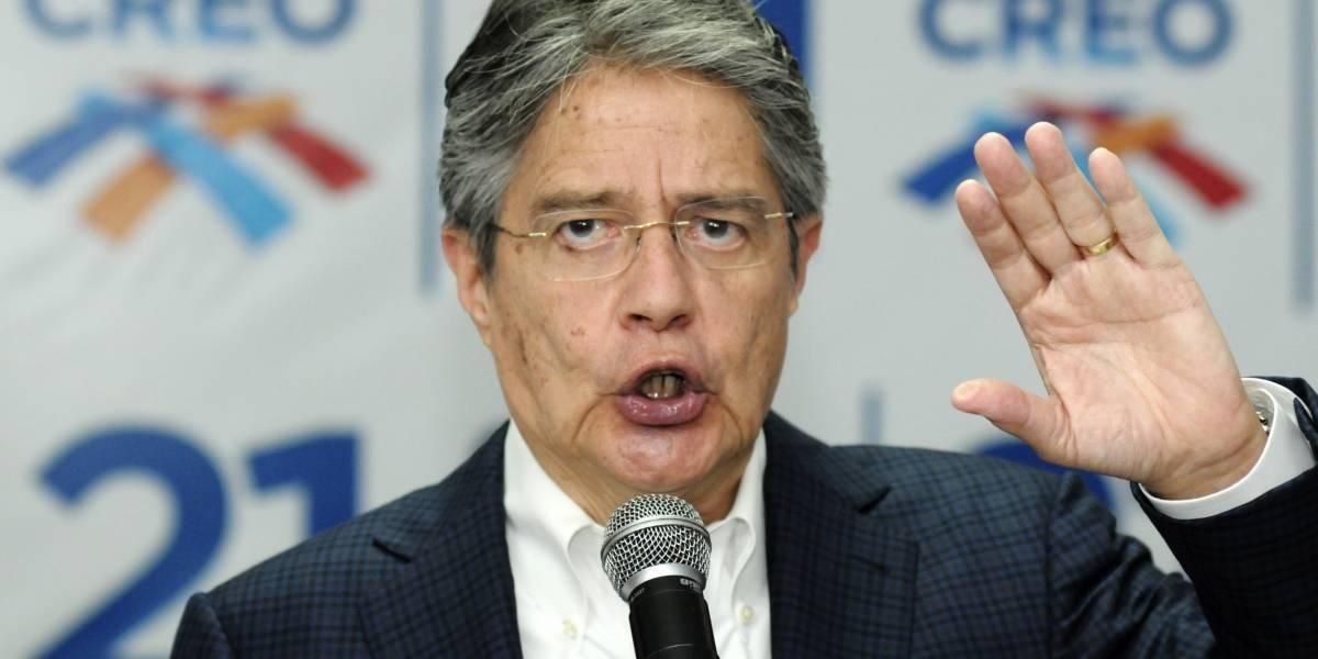 Guillermo Lasso: Si la Corte Constitucional se opone a la Consulta Popular iremos a las calles
