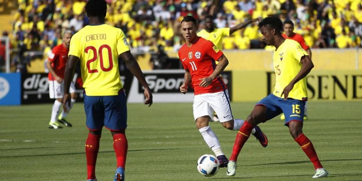 Ecuador nunca ha ganado a 'La Roja' en Chile