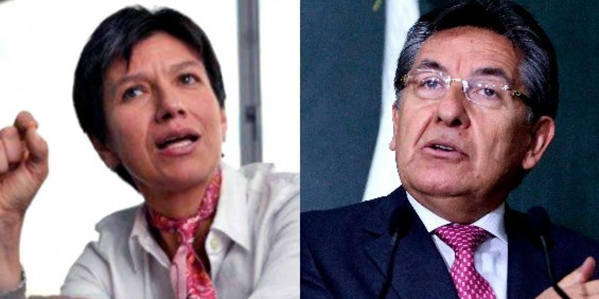 ¿Amenazas? Así fue el agarrón entre Claudia López y el fiscal Martínez