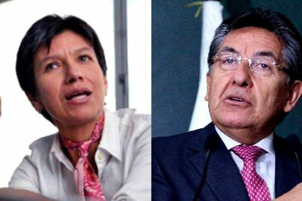 Fiscal y Claudia Lopez