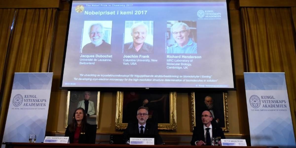 Premio Nobel de Química reconoce la criomicroscopía electrónica