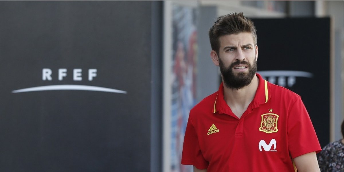 Piqué fija su postura respecto de suparticipaciónconla Selección de España