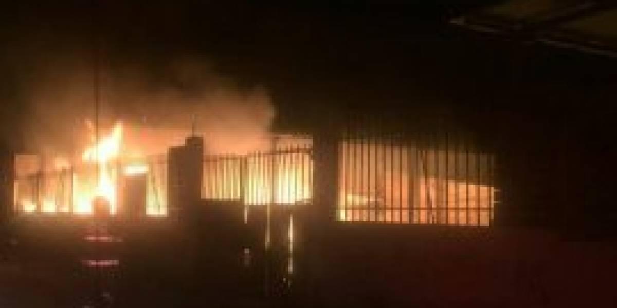 Se registró incendio de vivienda en Cotopaxi
