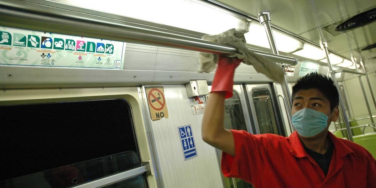 Estas son las bacterias con las que convives diariamente en el Metro