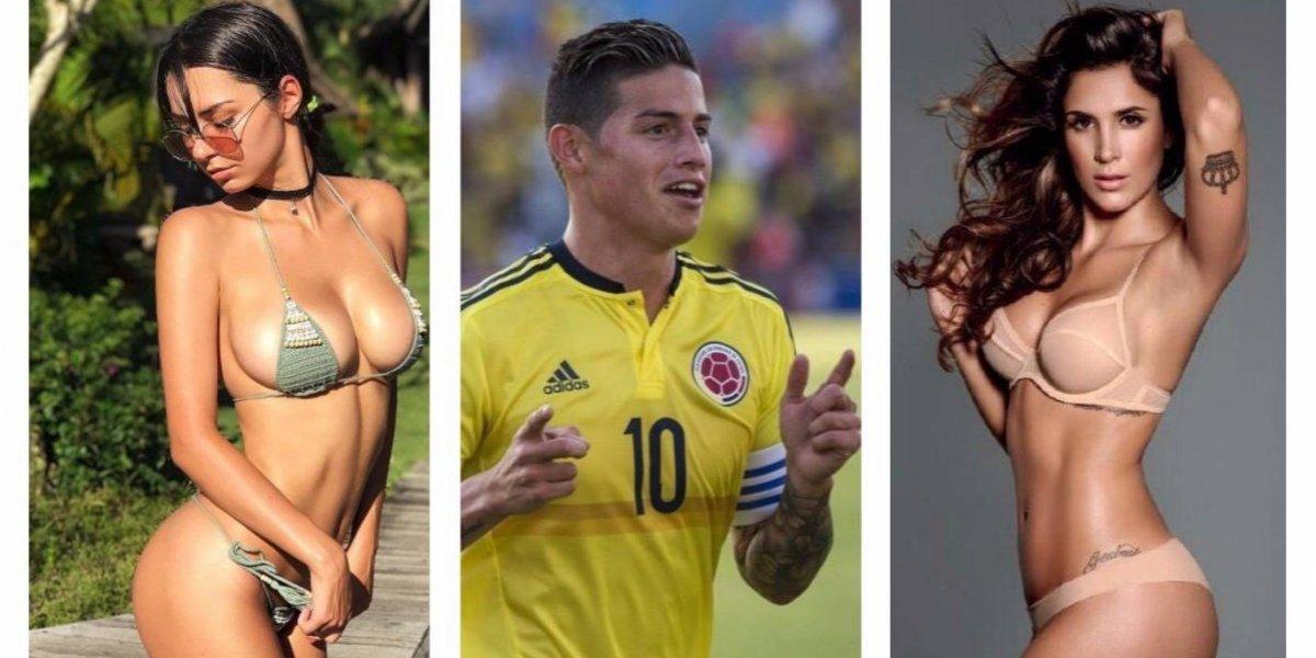 Daniela Ospina y Helga Lovekaty reaccionan ante publicación de James Rodríguez