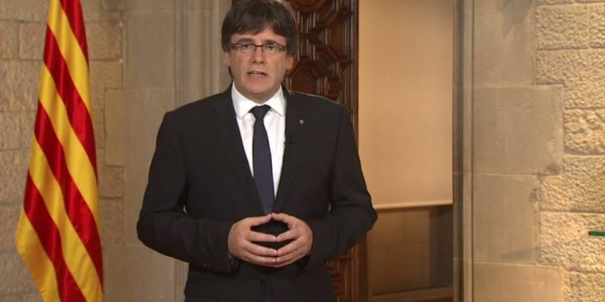 """Presidente de Cataluña: """"Este conflicto debe resolverse de manera política, no con la Policía"""""""