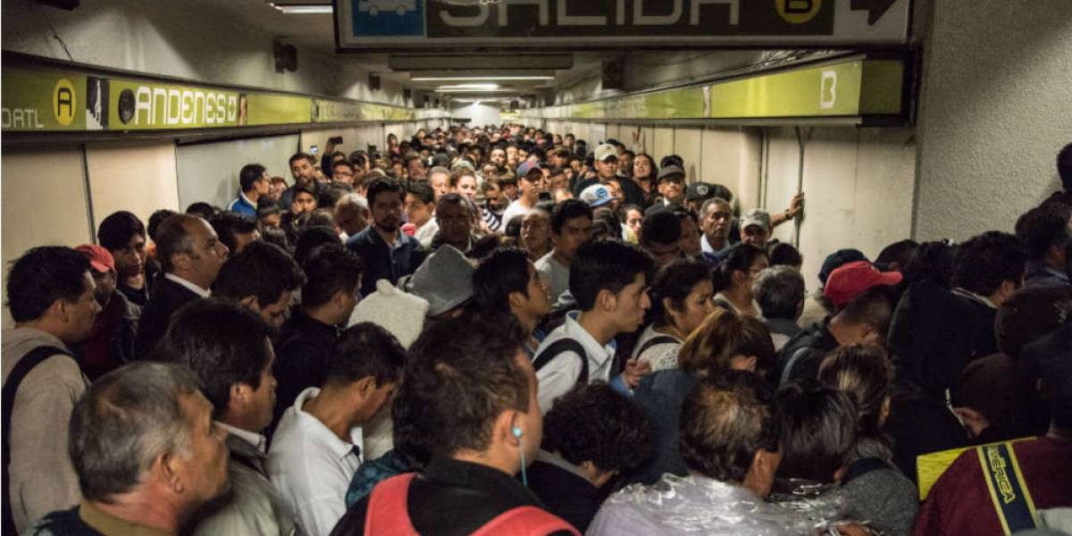 Ni crisis postsismo frena robo en el Metro