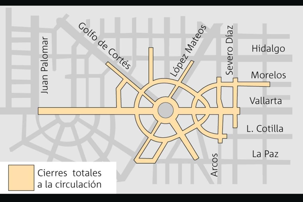 Preparan cierres viales en La Minerva por Festival Sucede