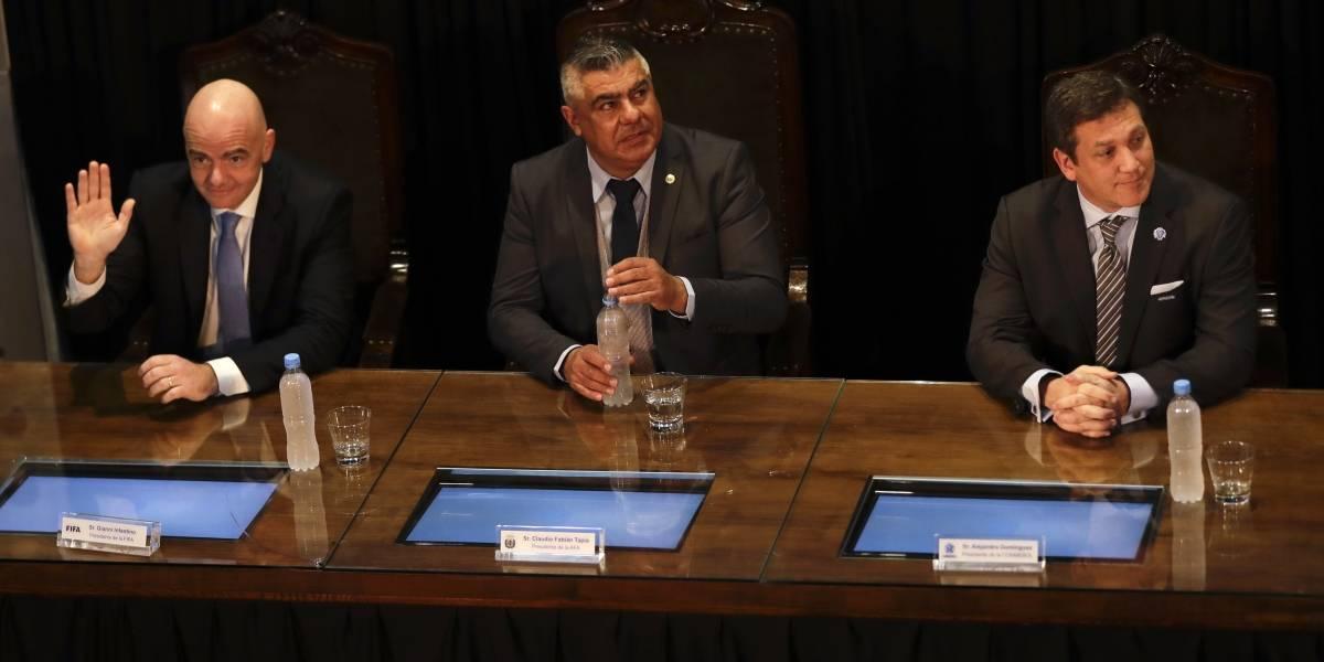 Argentina, Uruguay y Paraguay oficializan candidatura para Mundial de 2030