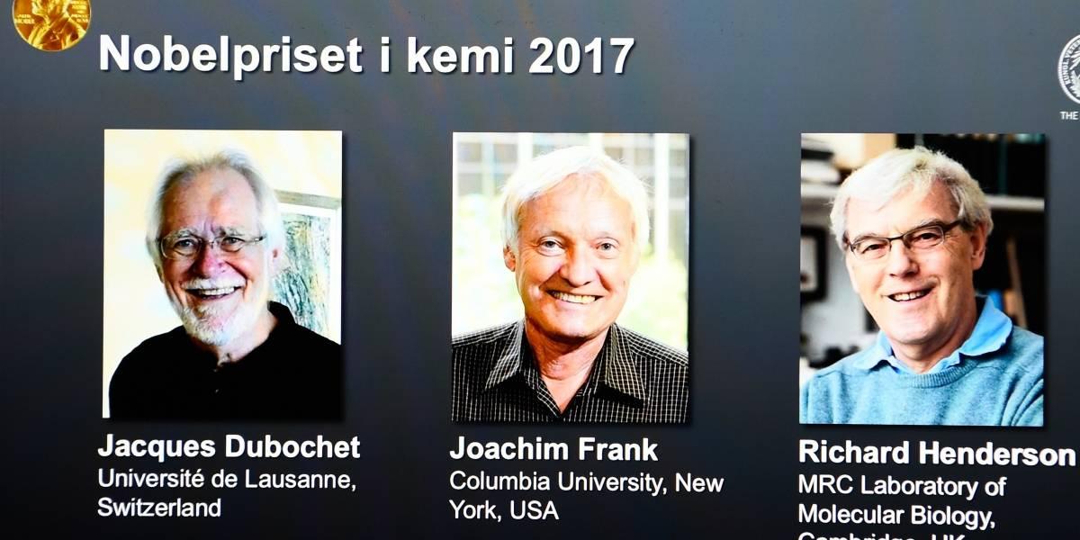 Tres investigadores ganan el Nobel de Química por una técnica que permite observar en alta resolución las biomoléculas