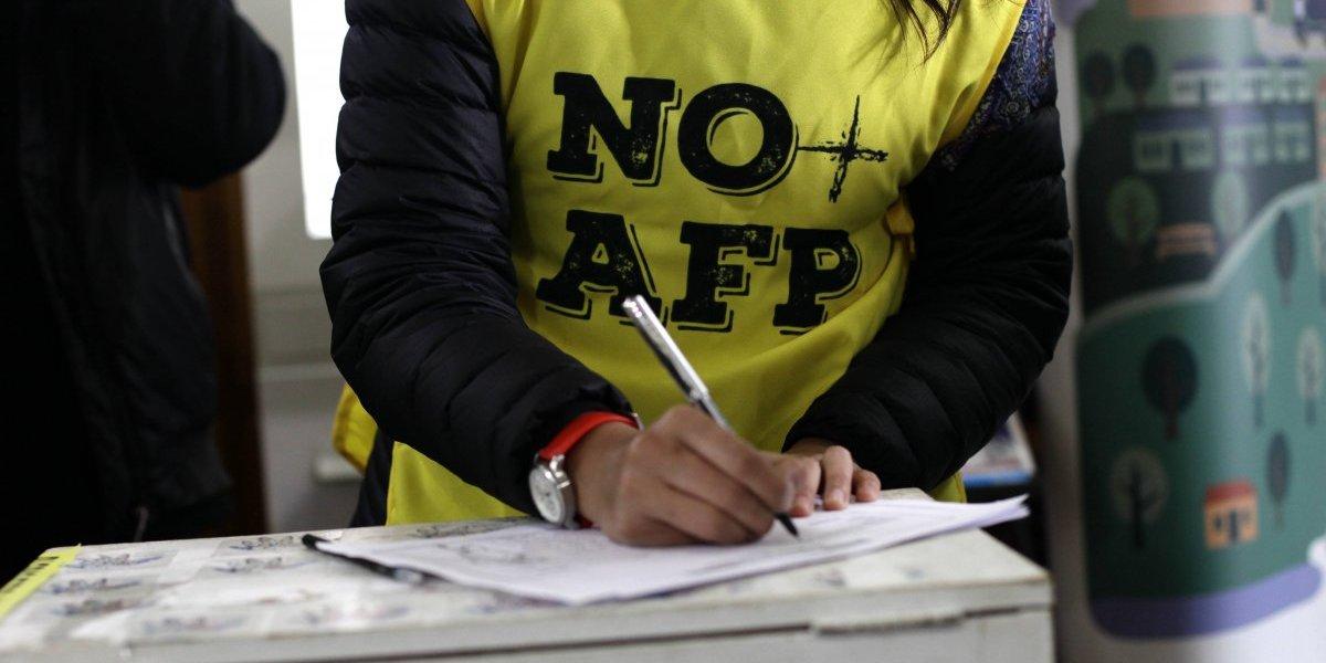 """Balance plebiscito """"No + AFP"""": menos del 2% votó por mantener el actual sistema de pensiones"""