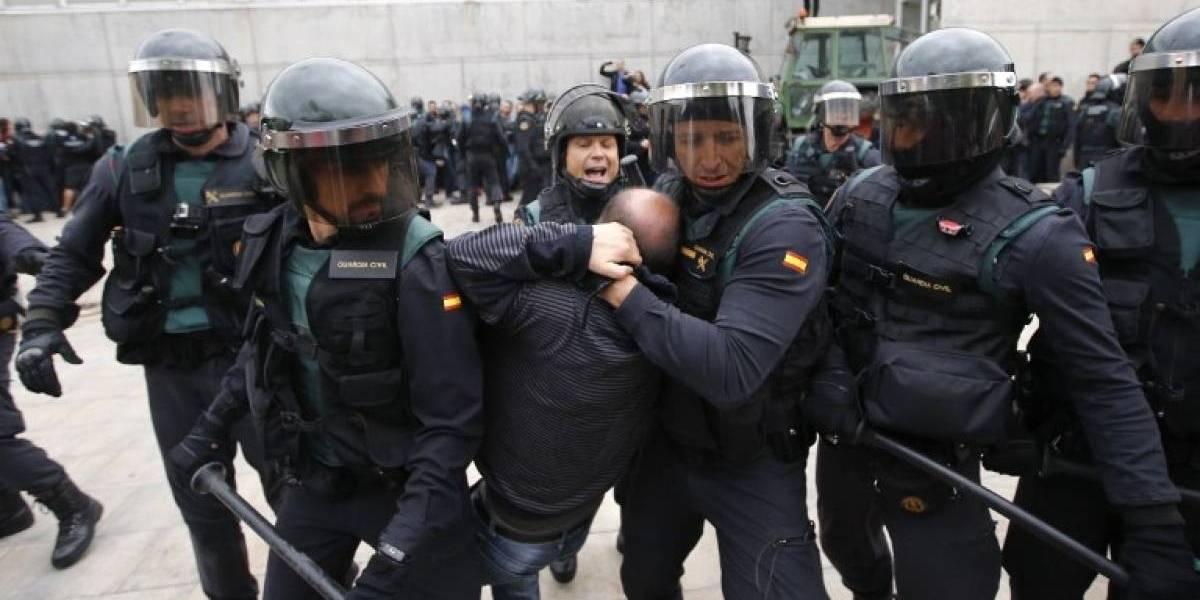 Nobel de la Paz guatemalteca critica violencia policial en Cataluña