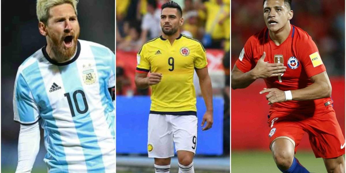 Siga en vivo los resultados de los partidos de la eliminatoria (Argentina - Perú, Chile - Ecuador y Colombia - Paraguay)