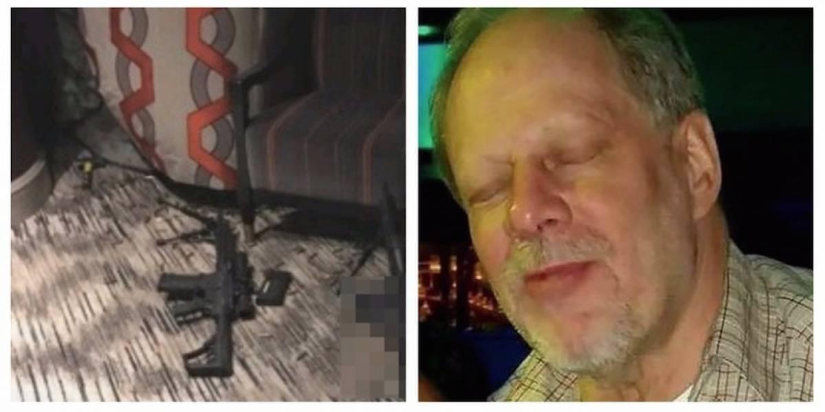 Revelan fotos del cuerpo y cuarto del autor masacre Las Vegas