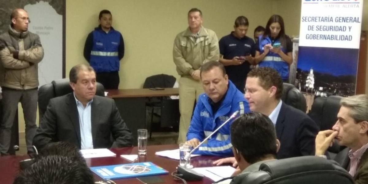 Mauricio Rodas presenta Plan de lluvias para Quito