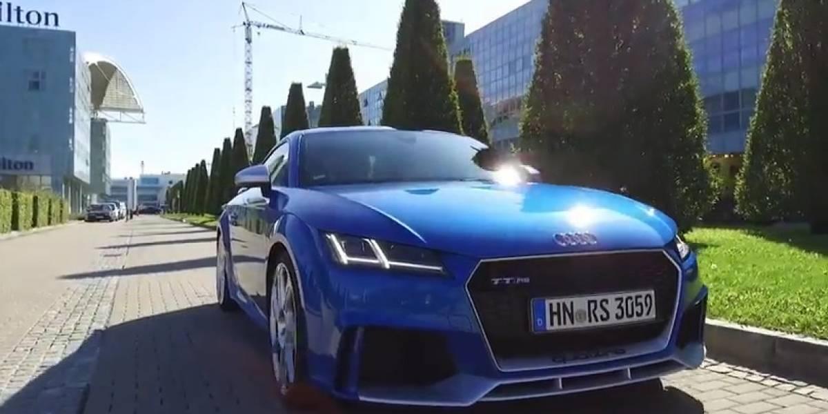 Audi TT RS: tudo que se espera de um esportivo