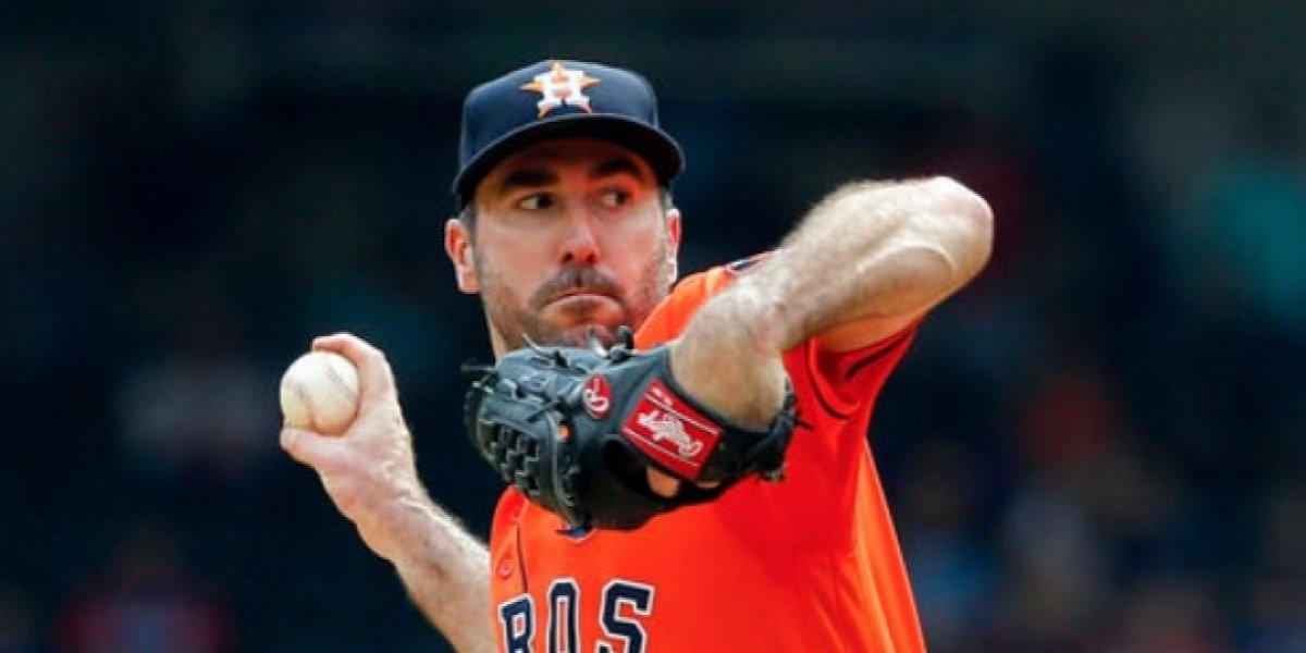 Verlander abrirá duelo inicial de Astros en playoffs