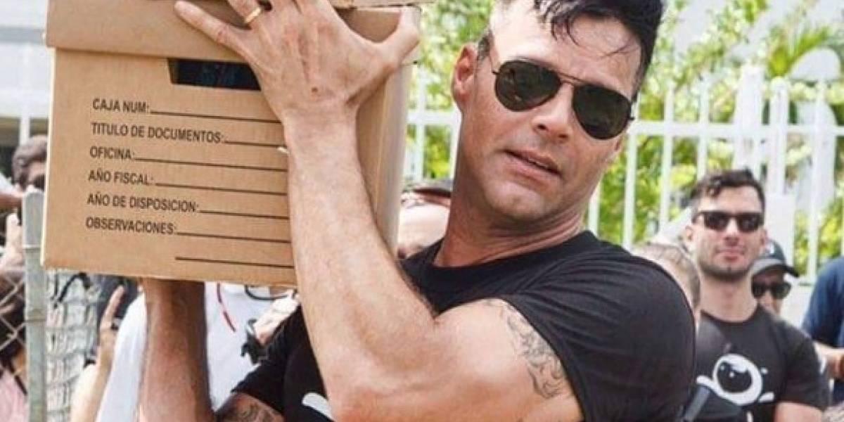 Ricky Martin mete mano en Loíza