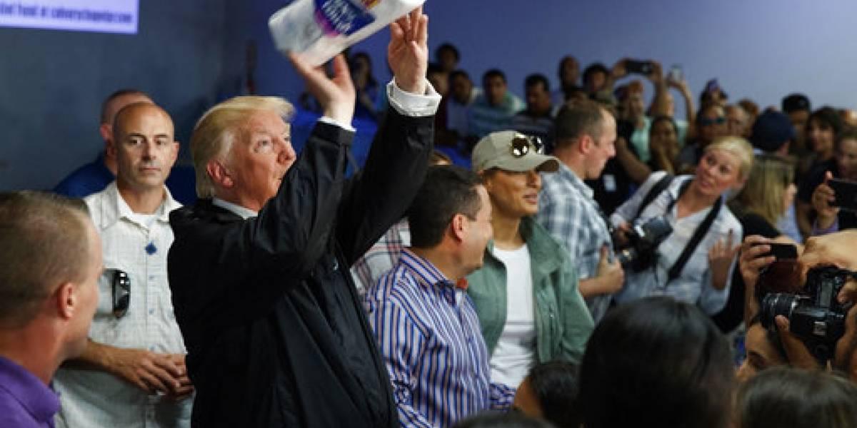 VIDEO. Trump protagoniza otro momento incómodo en Puerto Rico