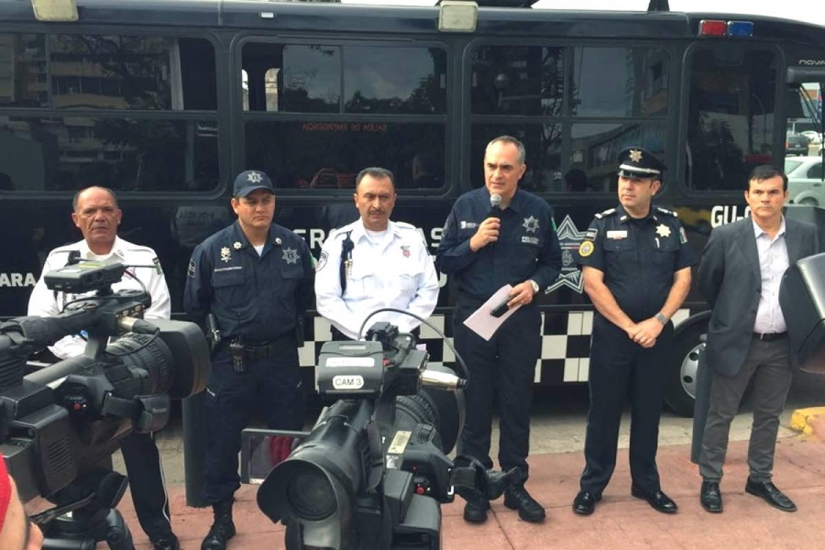 Confiscan 354 vehículos por operativo policiaco