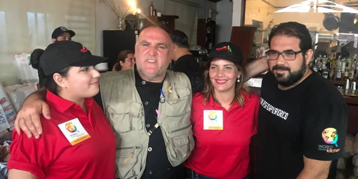 Chili's dona $20 mil en alimentos a José Andrés