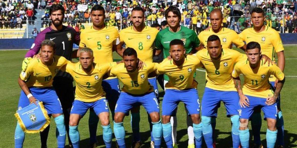 """A lo Ezequiel Luna: Marcelo Moreno Martins fue el """"jugador 12"""" de Brasil ante Bolivia"""