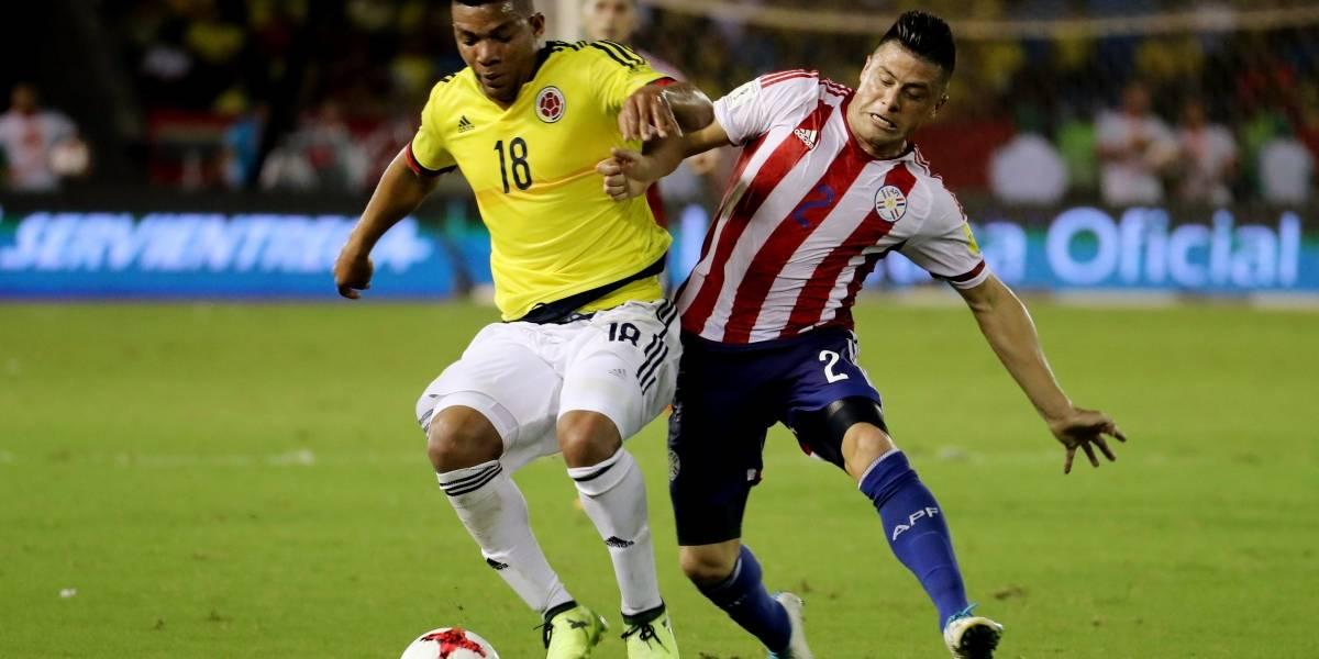 Colombia jugará con extraño uniforme ante Perú