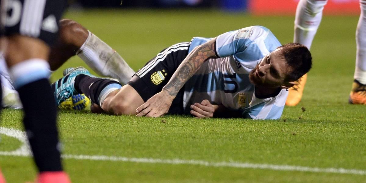 Argentina quedó en el piso, luego de empatar sin goles con Perú