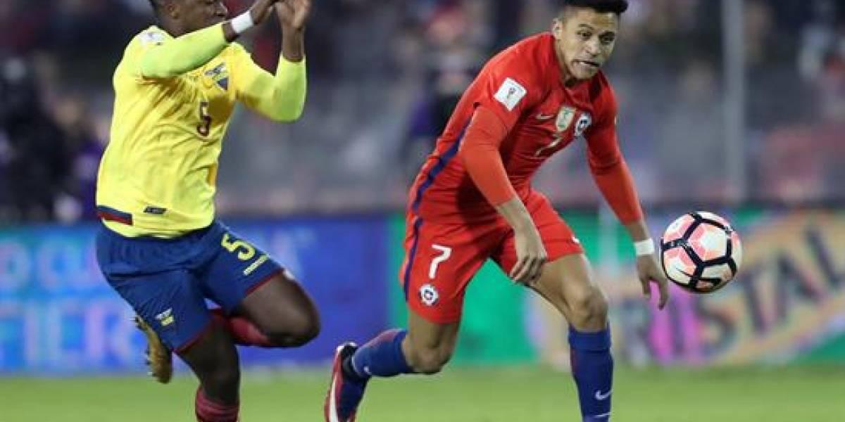 Chile ganó 2-1 a Ecuador en Santiago