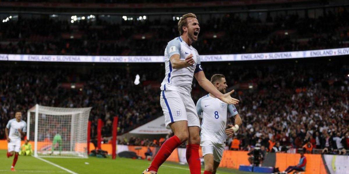 Inglaterra clasifica al Mundial con sufrido triunfo sobre Eslovenia