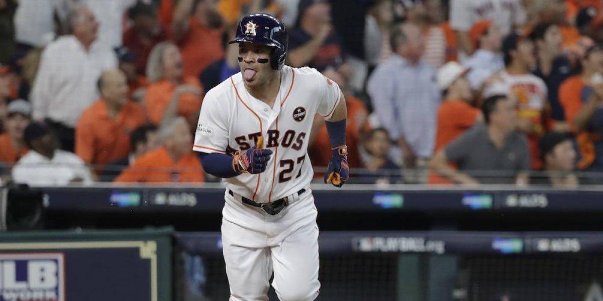 Los Astros toman ventaja sobre los Medias Rojas