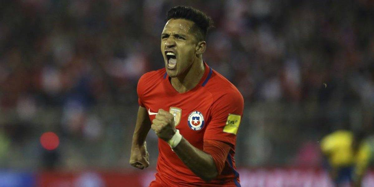 Chile se acerca al Mundial de Rusia 2018