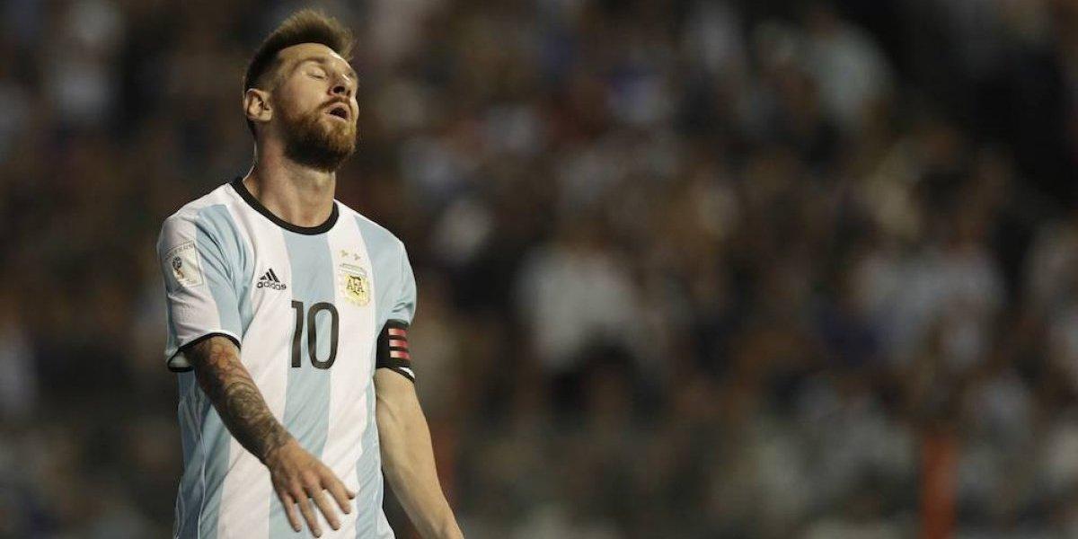 Argentina, cerca de quedarse fuera de Rusia 2018