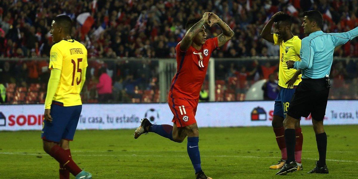Turbocrack: Eduardo Vargas sigue haciendo historia y superó a Zamorano en la tabla de goleadores de la Roja