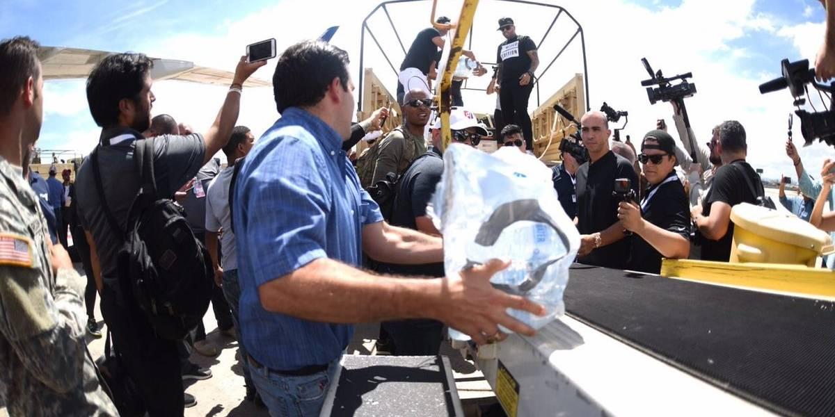 FEMA advierte que lanzará suministros desde aeronave