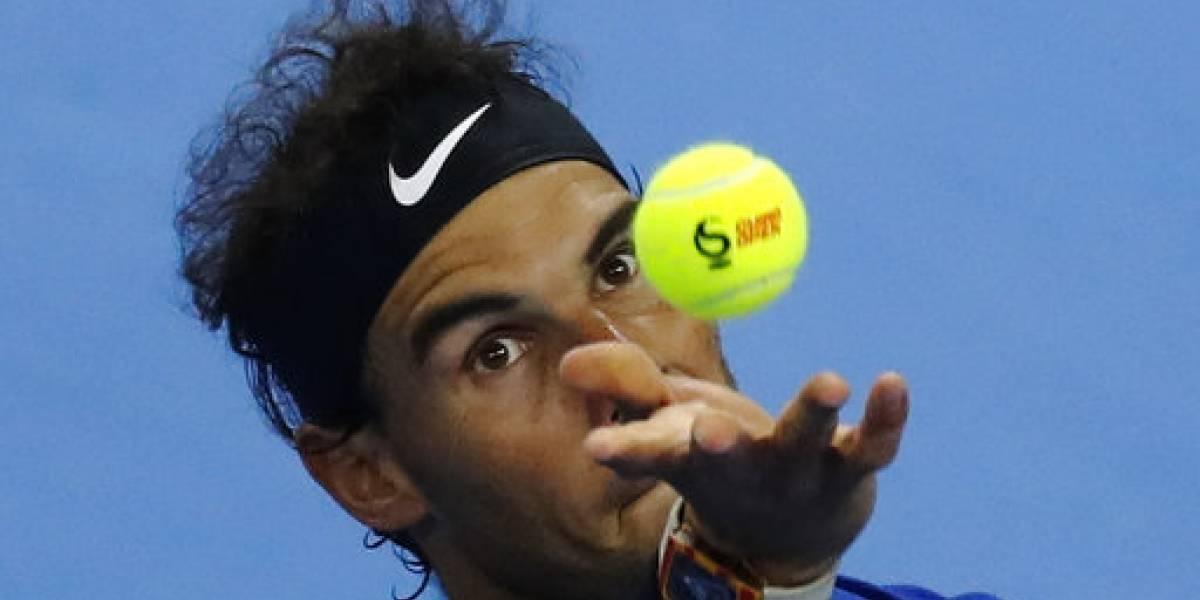 Rafael Nadal adelanta a cuartos de final en China