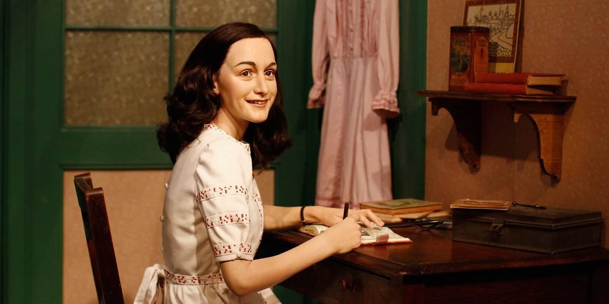 Páginas escondidas no diário de Anne Frank revelam piadas e ideias sobre educação sexual