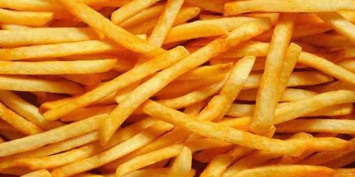 Se crean las primeras papas fritas saludables