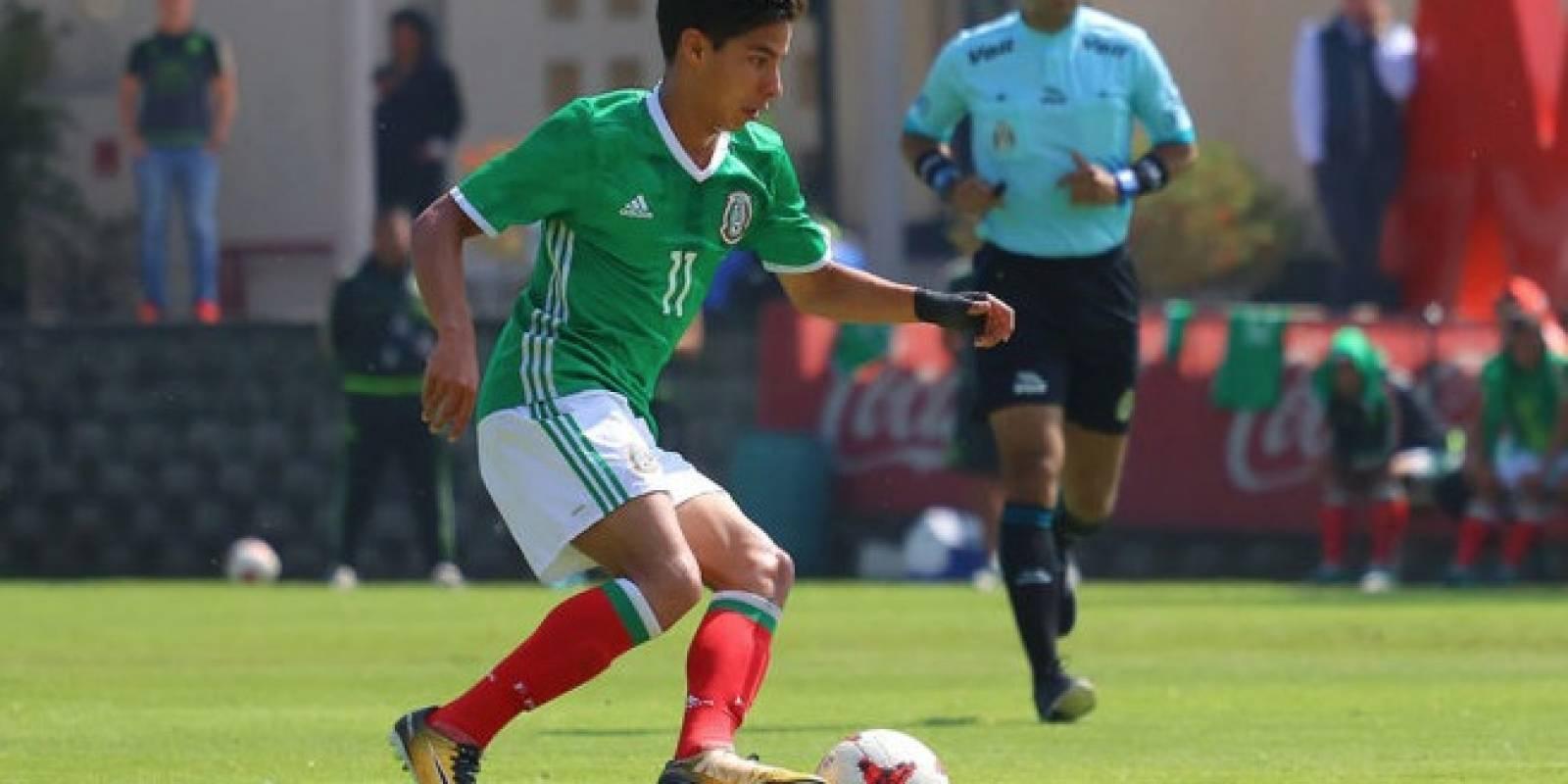 Diego Lainez es un volante que pertenece al América. Con las Águilas ya suma 17 presencias en el primer equipo.